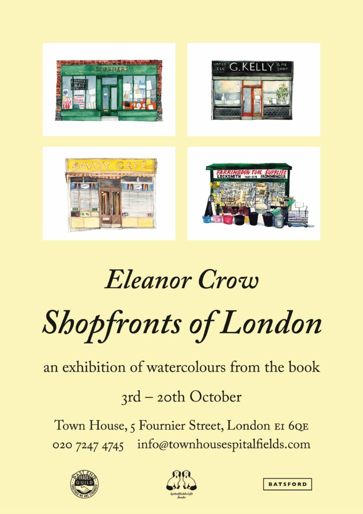 Eleanor Crow's Shopfronts of London