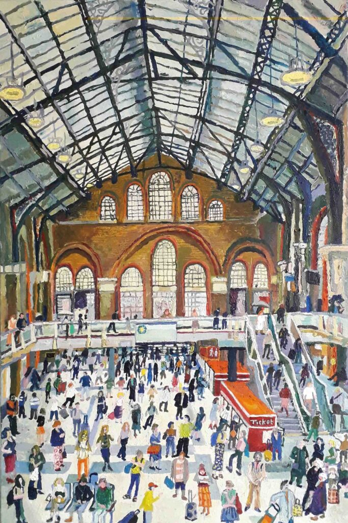 Nicholas Borden: Liverpool St Station Sold