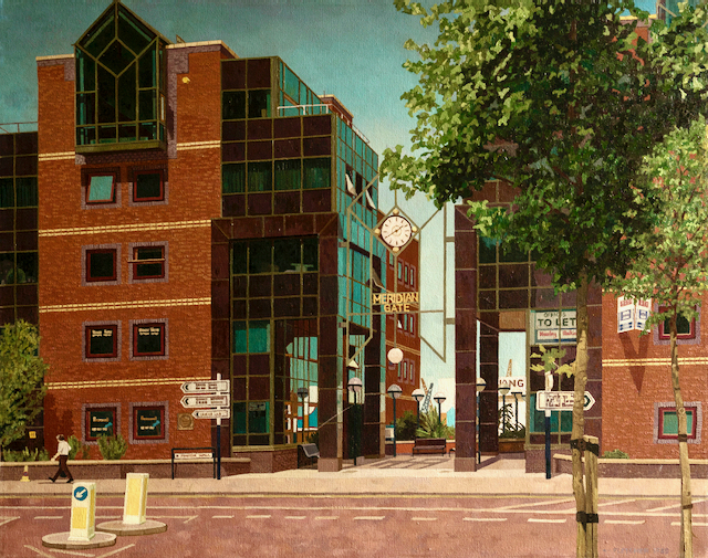 Meridian Gate by Doreen Fletcher for sale in Still Standing, an exhibition at Town House Spitalfields