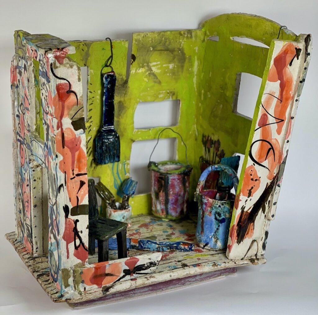 Arabella Ross: the Artist's Studio was the Scene of a Revolution £2375