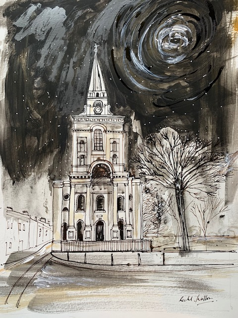 Richard Swallow: Christ Church, Spitalfields £460