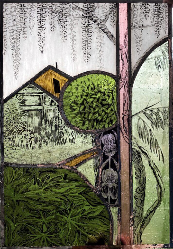 Linda White Melissa's Garden Town House Open exhibition
