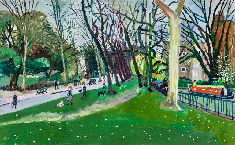 Nicholas Borden: Regents Canal at Victoria Park