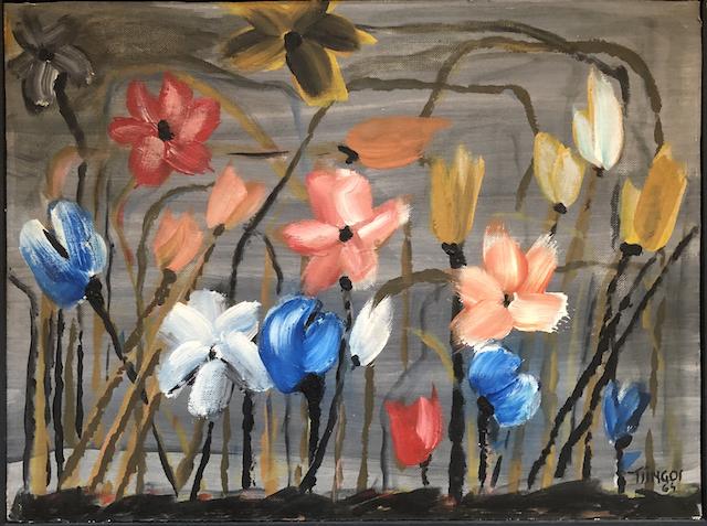 Spring Flowers by Thanos Tsingos 1964 £2,250